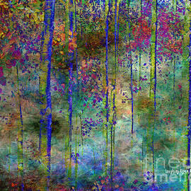 Laughing Aspen Art - Magical Forest Memory