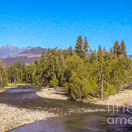 Omaste Witkowski - Magical Intersections Methow Valley Landscapes by Omashte