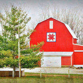 William Sturgell - Magnificent Quilt Barn in Ohio