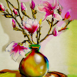 Linde Townsend - Magnolia in Pink