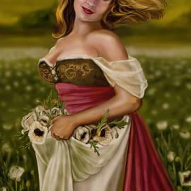 Maggie Terlecki - Maiden amongst the Poppies