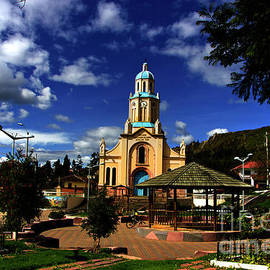 Al Bourassa - Main Plaza At Paccha, Ecuador II
