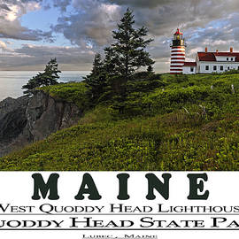 Marty Saccone - MAINE West Quoddy Head Lighthouse