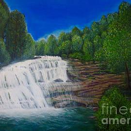 Kimberlee Baxter - Majestic Bald River Falls of Appalachia II