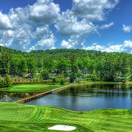 Reid Callaway - Majestic Golf Highlands Country Club Golf Art