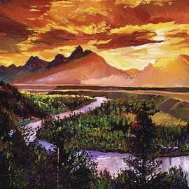 MAJESTIC MORNING - David Lloyd Glover