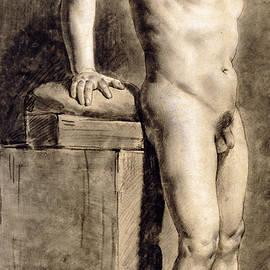 Male Academy Figure - Ferdinand Victor Eugene Delacroix