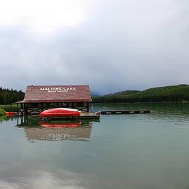 Christiane Schulze Art And Photography - Maligne Lake Boat House