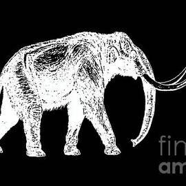 Mammoth White Ink Tee - Edward Fielding