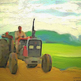 Lenore Senior and Bobby Dar - Man on a Tractor
