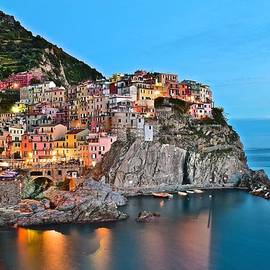 Frozen in Time Fine Art Photography - Manarola Aglow