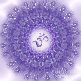 Giada Rossi - Mandala art - Sahasrara Mandala by RGiada