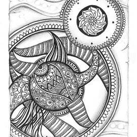 Prajakta P - Mandala Doodle Art