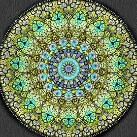 Michael African Visions - Mandala Looking In