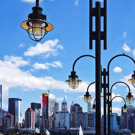 Susan Savad - Manhattan NY - Skyline From Liberty State Park