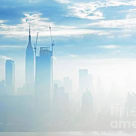 Regina Geoghan - Manhattan Skyline Morning Fog