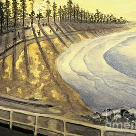 Leanne Seymour - Manly Beach Sunset