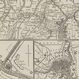 Map illustrating General Lee