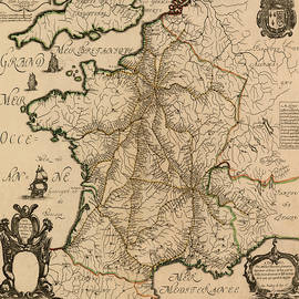 Andrew Fare - Map Of France 1632