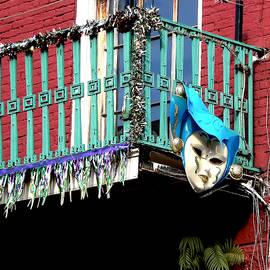 Kathy K McClellan - Mardi Gras Balcony