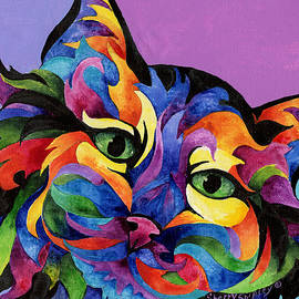 Sherry Shipley - Mardi Gras Cat
