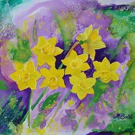 Margaret Bobb - Mardi Gras Daffodils