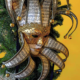 Norman Gabitzsch - Mardi Gras Mask in Gold