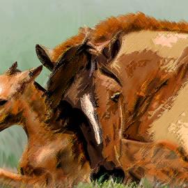 Michele  Avanti - Mare and Foal