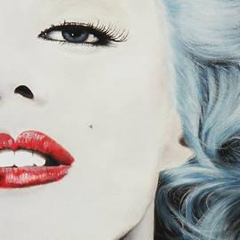 Kathleen Wong - Marilyn Monroe Blue