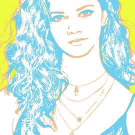 Marina Nery Pop Art - Greg Joens