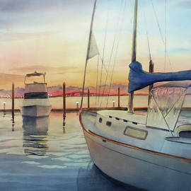 Sue Zimmermann - Marina Sunset
