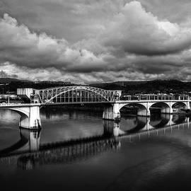 Greg Mimbs - Market Street Bridge In Black and White