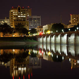Shelley Neff - Market Street Bridge Reflections