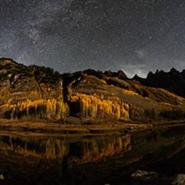 Mike Berenson - Maroon Lake Milky Way Panorama