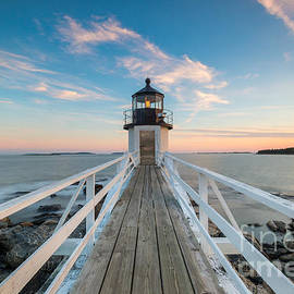 Michael Ver Sprill - Marshall Point Lighthouse Sunset