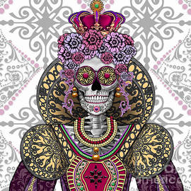 Mary Queen of Skulls - Christopher Beikmann