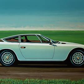 Maserati Khamsin 1974 Painting - Paul Meijering