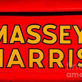Massey Harris Nameplate - Olivier Le Queinec