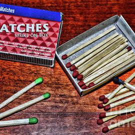 Paul Ward - Matches Strike on Box