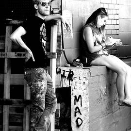 Jennifer Mecca - Matt and Olivia ready to Tag