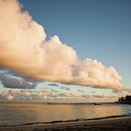 Denis Dore - Maui Hawaii Sunset Stunning Clouds