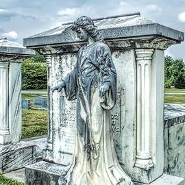Melissa Bittinger - Mausoleum Angel Cemetery Landscape