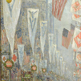 May 1919, 930 AM - Childe Hassam