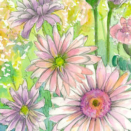 Cathie Richardson - May Day Daisy Bouquet