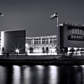 McLane Stadium BW Panoramic