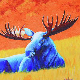 Keith Alway - Meadow Moose