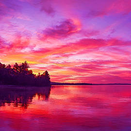 Bill Caldwell -        ABeautifulSky Photography - Meddybemps Sunrise Panorama