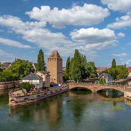 W Chris Fooshee - Medieval Bridge in Strasbourg