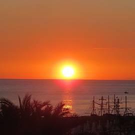 B Vesseur - Mediterranean Sunset