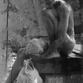 Robert D McBain - Melancholy Days Collage BW